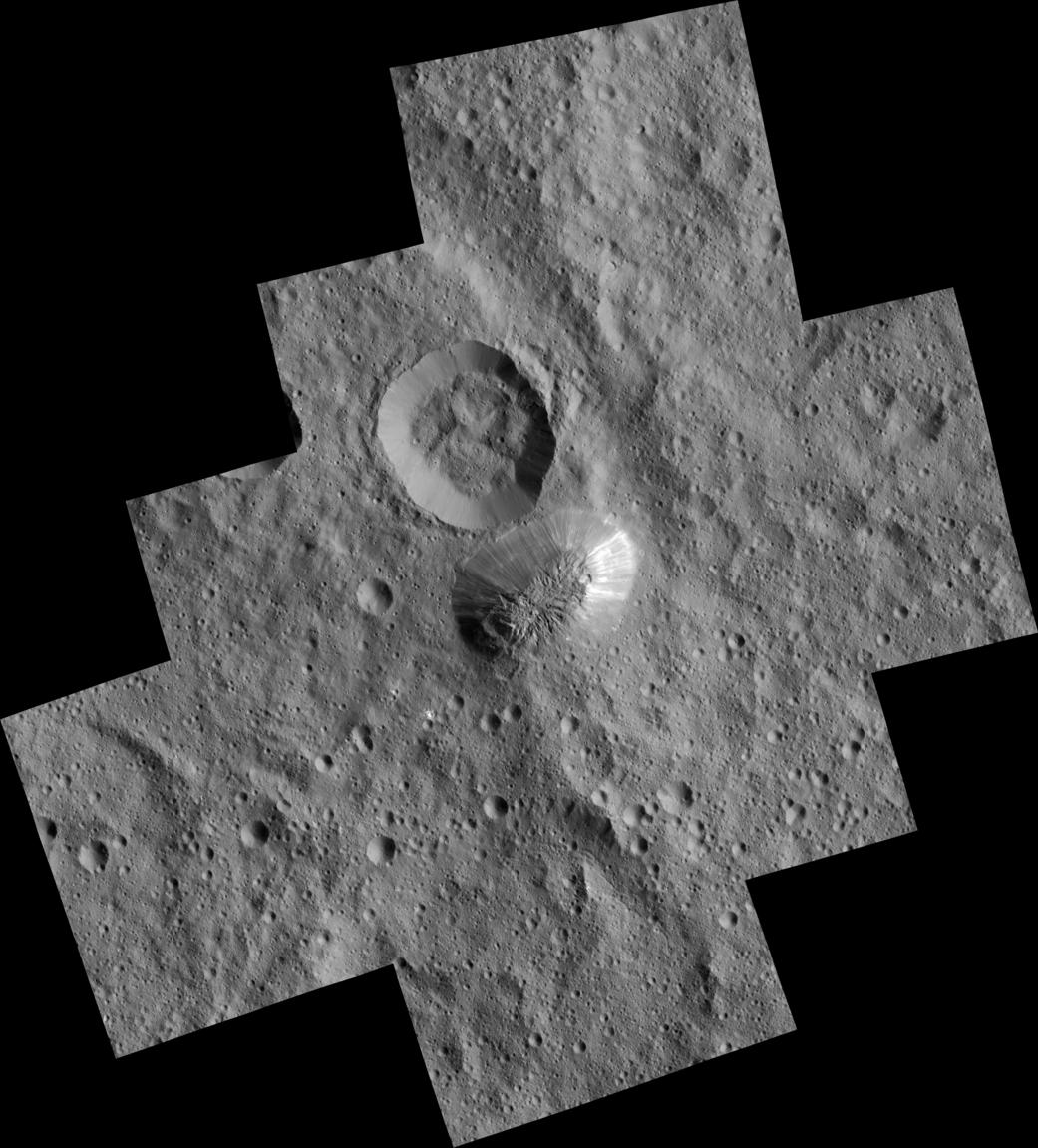 2016.3.8:太陽系で最も高い山、準惑星セレスのアウナ山