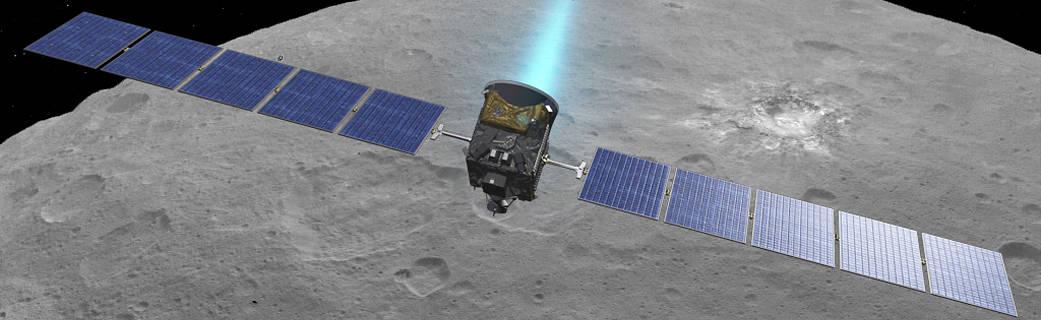 2016.08.31:セレス軌道上のドーンが新たな観測に向けて姿勢制御
