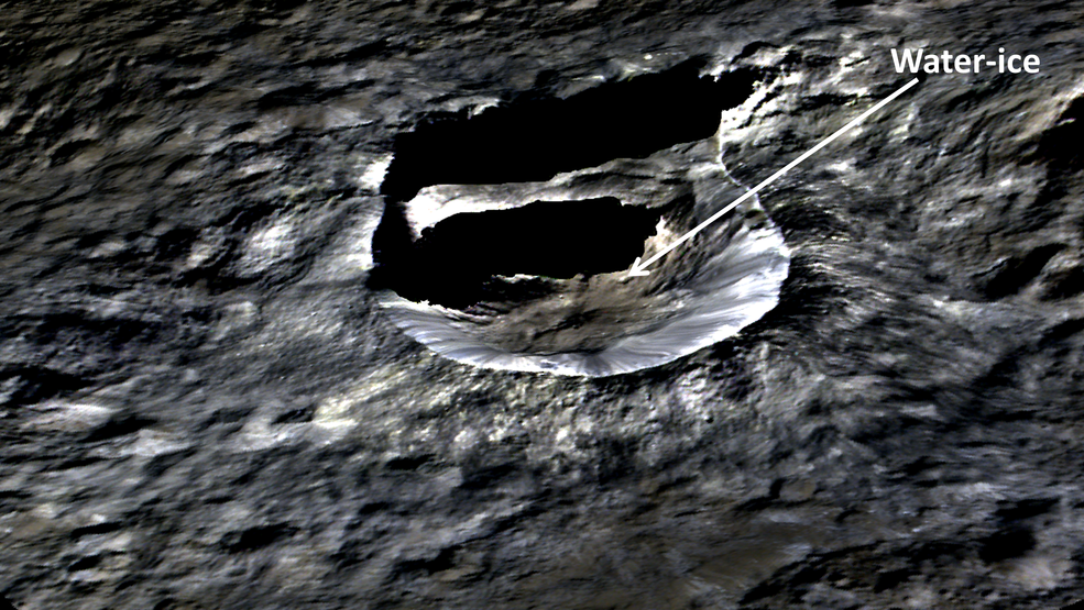 The small, bright crater Oxo (6 miles, 10 kilometers wide) on Ceres is seen in this perspective view. The elevation has been exaggerated by a factor of two. The view was made using enhanced-color images from NASA's Dawn mission. Credits: NASA/JPL-Caltech/UCLA/MPS/DLR/IDA/PSI Full image and caption
